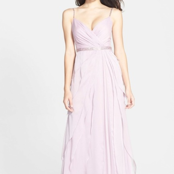 Adrianna Papell Dresses & Skirts - Adrianna Papell Tiered Chiffon Gown